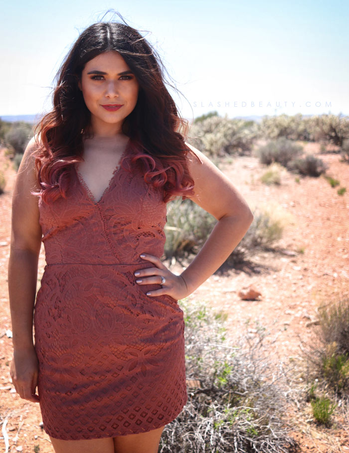 Lace bodycon: Summer Outfit Inspiration for festivals, road trips and vacation. | Slashed Beauty