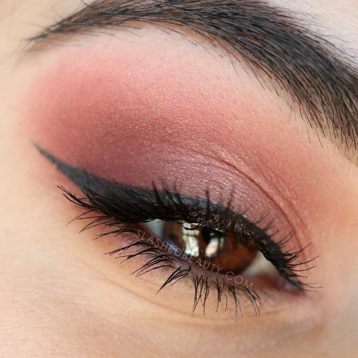 A look I created with the Kokie Cosmetics Peachy Queen Artist Palette. Take a look at the brand new budget-friendly Kokie Cosmetics Artist Palettes with swatches.   Slashed Beauty