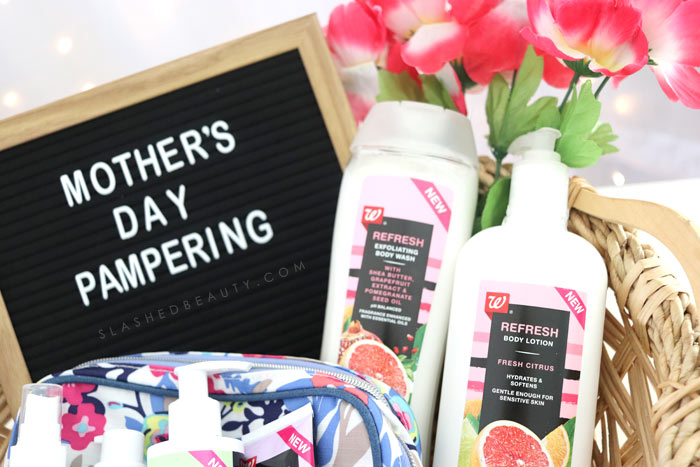 New Walgreens Beauty Brand Lotion: Check out these beauty essentials to pamper mom with for Mother's Day! | Slashed Beauty