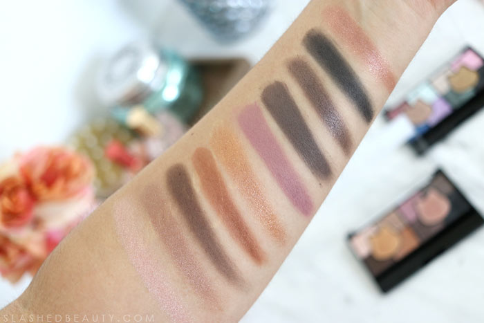 Hot Kat Swatches: Check out the newest products from the Katy Perry x COVERGIRL collaboration-- the Katy Kat Palettes. See swatches! | Slashed Beauty