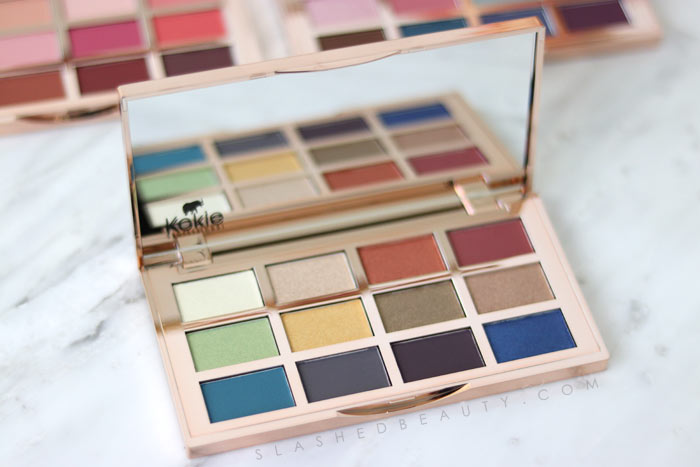 Treasured: Take a look at the brand new budget-friendly Kokie Cosmetics Artist Palettes with swatches. | Slashed Beauty