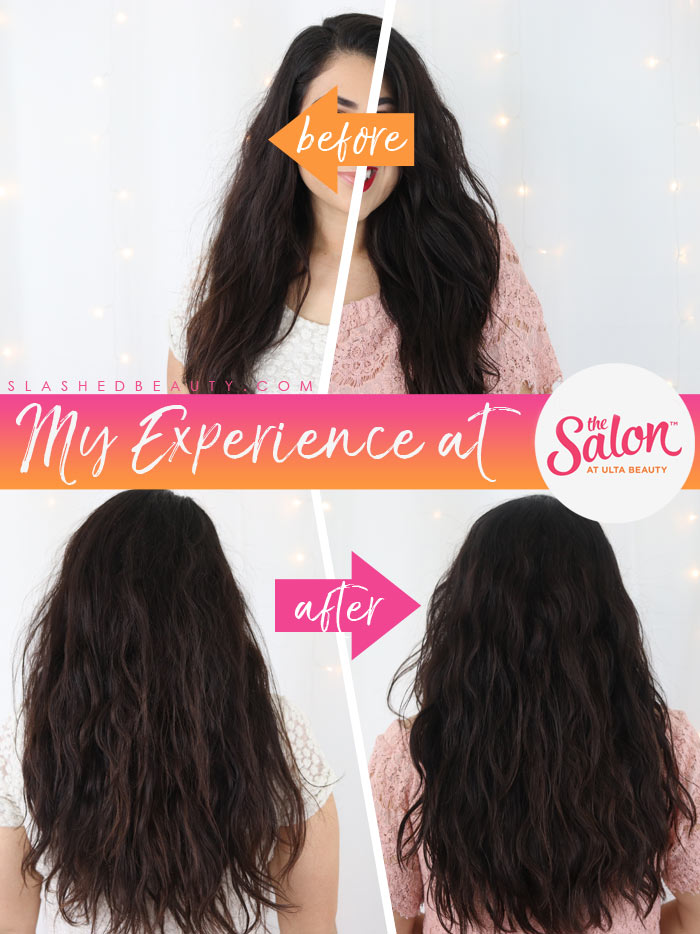 The Salon at Ulta Beauty Review: Is The Salon at Ulta Beauty good? See before & after photos of my haircut and treatment. | Slashed Beauty