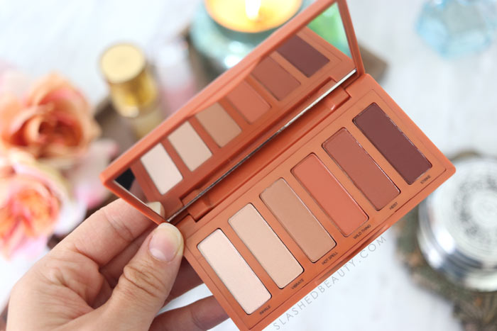 Is the Urban Decay Naked Petite Heat Palette Worth It? Take a closer look at the mini palette and check out 3 go-to looks you can create! | Slashed Beauty