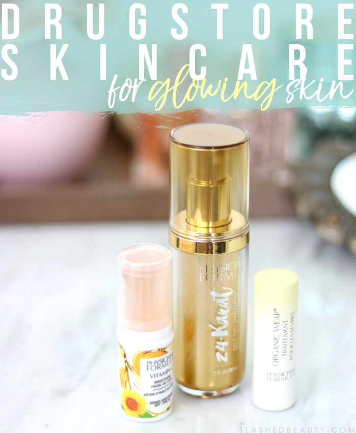 Discover the latest drugstore skin care from Physicians Formula, helping you get glowing skin this season! | Slashed Beauty