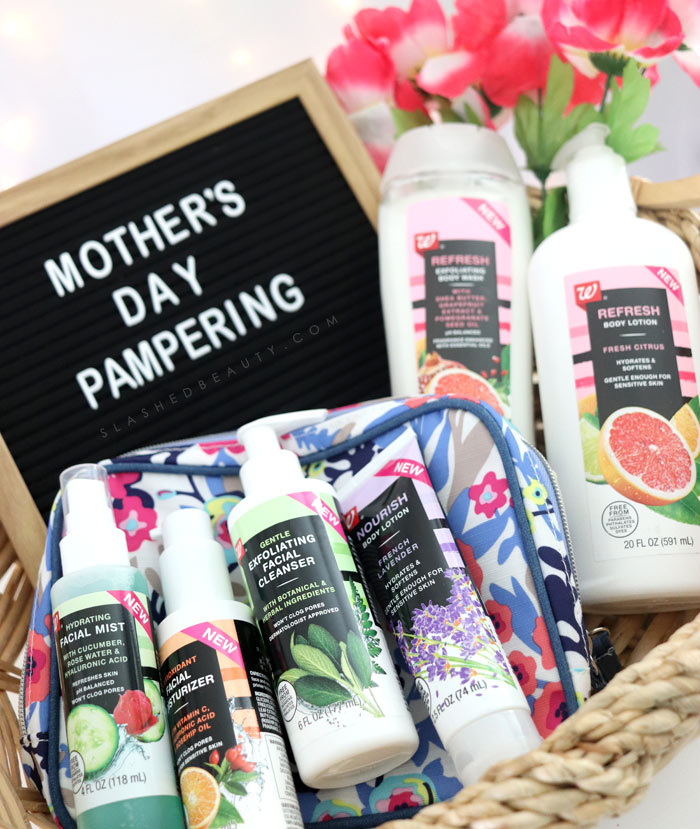 New Walgreens Beauty Brand: Check out these beauty essentials to pamper mom with for Mother's Day! | Slashed Beauty