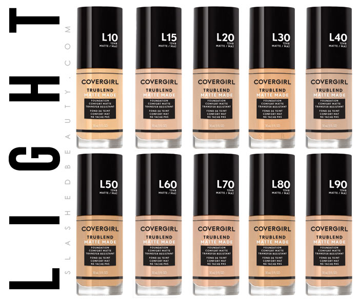 See COVERGIRL's most inclusive makeup line: the TruBlend Matte Made foundation, available in 40 shades! | Slashed Beauty