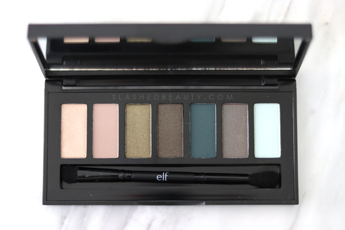 The new e.l.f. Chromatic Eyeshadow Palette in Posh Peacock: read the review & see swatches of both new palettes. | Slashed Beauty