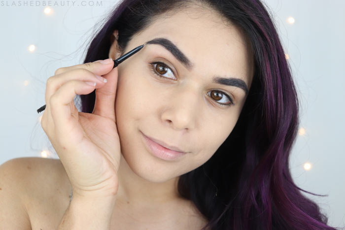 Drugstore brow pencil for summer: This 10 minute summer makeup tutorial will get you out the door quickly and have you looking polished all day! | Slashed Beauty