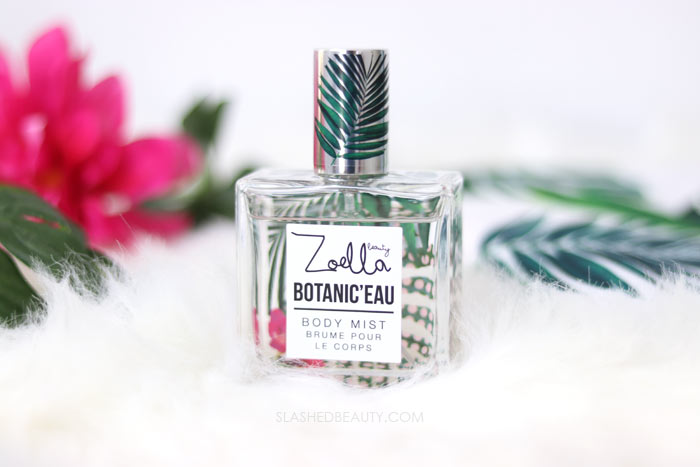 Zoella Beauty Botanic'eau Eau de Toilette: Take a look at the new Zoella Beauty Splash Botanics Collection, a fresh bath & body line for summer. | Slashed Beauty