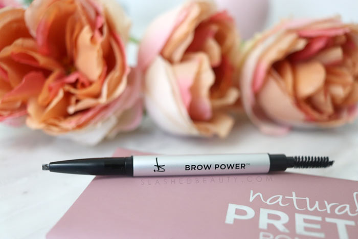 It Cosmetics Brow Power Pencil: Curious about what the best makeup from It Cosmetics are? See my favorites that are worth the splurge. | Slashed Beauty