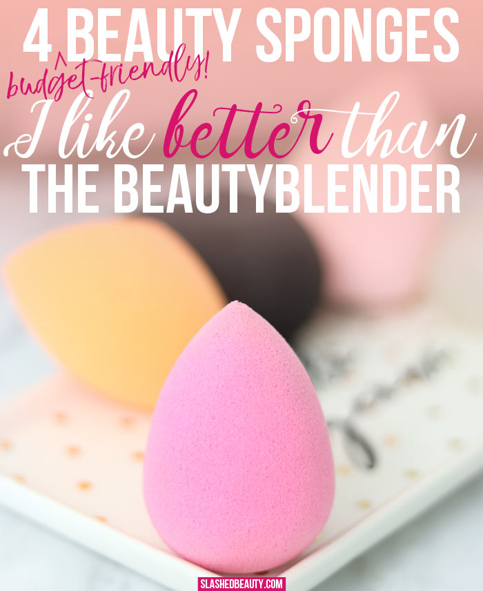 Looking for beautyblender dupes? Here are four budget-friendly beauty sponges that will get the job done just as well as the original beauty blender. | Slashed Beauty