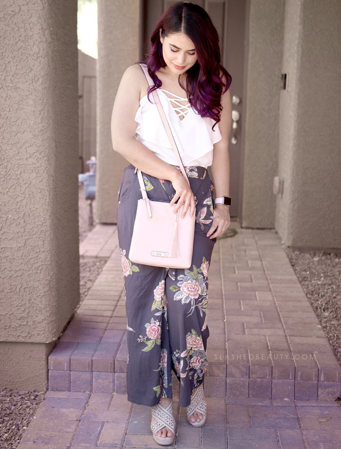 Dressy Casual for Summer: See what I picked up on my recent trip to Macy's Backstage to refresh my summer wardrobe. All these summer styles were $20 and under! Watch the summer clothing try on haul. | Slashed Beauty