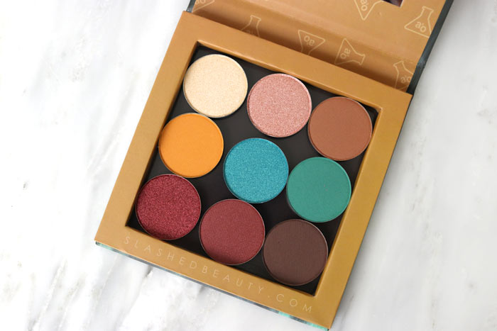 a2o Lab Imma Beach Eyeshadow Kit Review & Swatches: See the newest launch from Shop Miss A! | Slashed Beauty