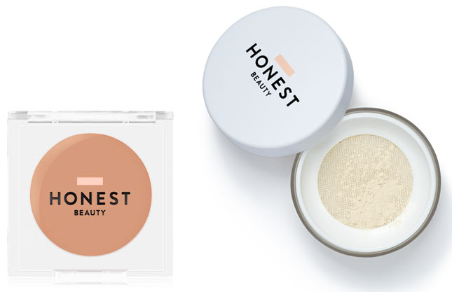New Honest Beauty Makeup: Magic Beauty Balm & Invisible Blurring Loose Powder. See what new drugstore and beauty launches have released in July 2018! | Slashed Beauty