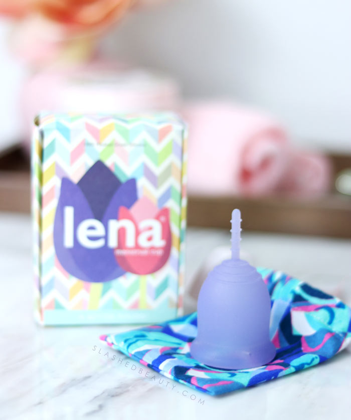 Lena Cup Review: Menstrual Cup for Sports -- Hear my experience using the Lena Cup with a high cervix. | Slashed Beauty