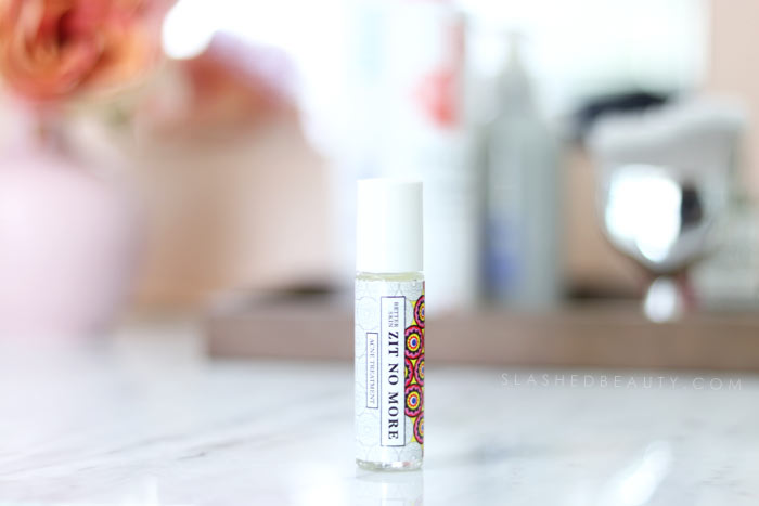 A clean acne spot treatment that works fast-- check out the before and after review of The Better Skin Co. Better Skin Zit No More Acne Treatment.   Slashed Beauty