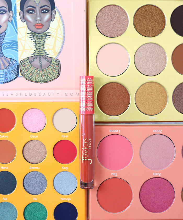 See some of the new Juvia's Place palettes available at Ulta Beauty! The Warrior Palette, The Magic Mini Palette, & The Saharan Blush Palette Vol II | Slashed Beauty