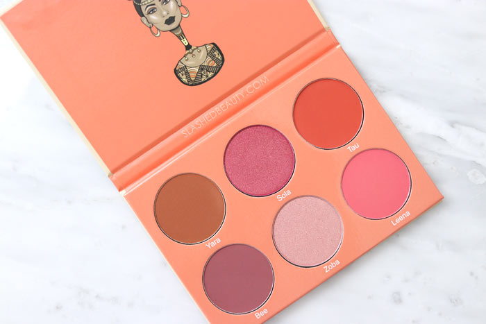 See some of the new Juvia's Place palettes available at Ulta Beauty! The Saharan Blush Vol. II Palette Review & Swatches | Slashed Beauty
