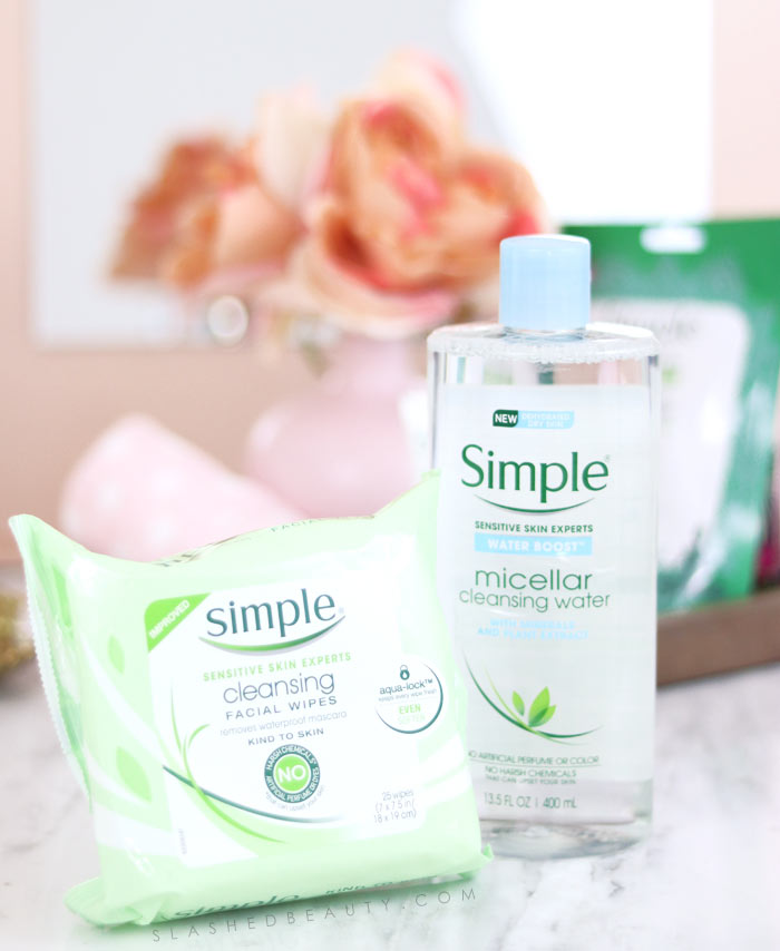 This quick & simple skin care routine is perfect for a busy city girl who's tired from a night out on the town. | Slashed Beauty