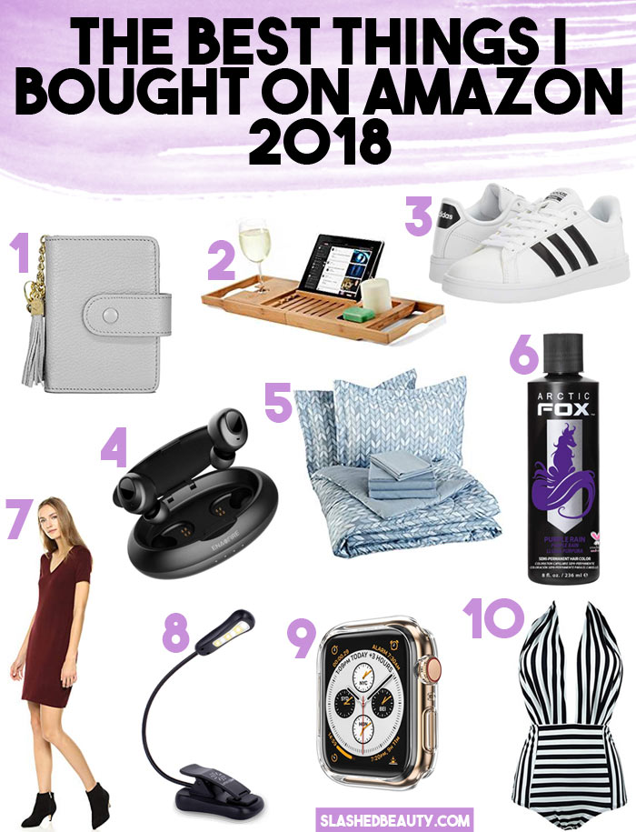 10 Best Things I Bought on Amazon in 2018: Lifestyle, Beauty & Fashion | Slashed Beauty