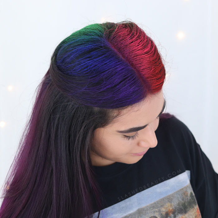 Best Hair Color Spray For Dark Hair Manic Panic Amplified Hair