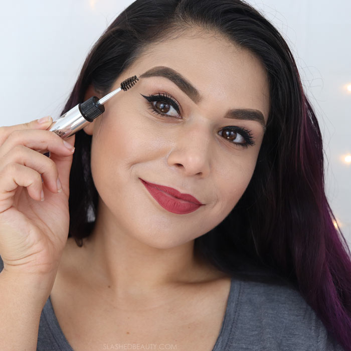 Physicians Formula Brow Las Longwearing Brow Gel Review & Tutorial: long lasting drugstore brow product. | Slashed Beauty