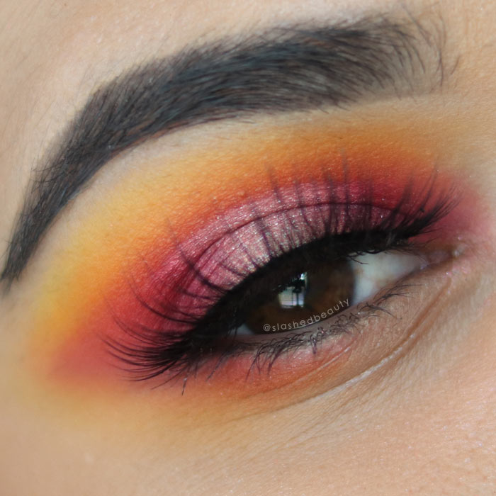 Review Morphe X James Charles Palette Slashed Beauty