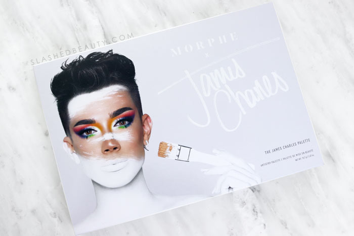 Morphe x James Charles Palette Review. Eye safe? How to apply, and three looks to create! | Slashed Beauty