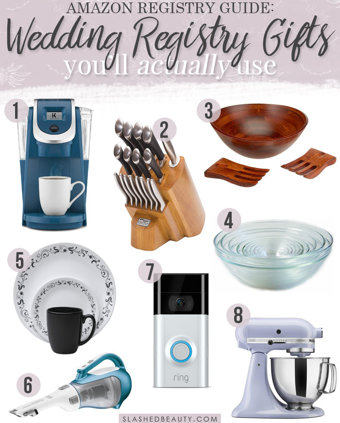 8 Wedding Registry Items I Actually Use Regularly: What I Should Put On My Wedding Registry: Useful Things | Slashed Beauty