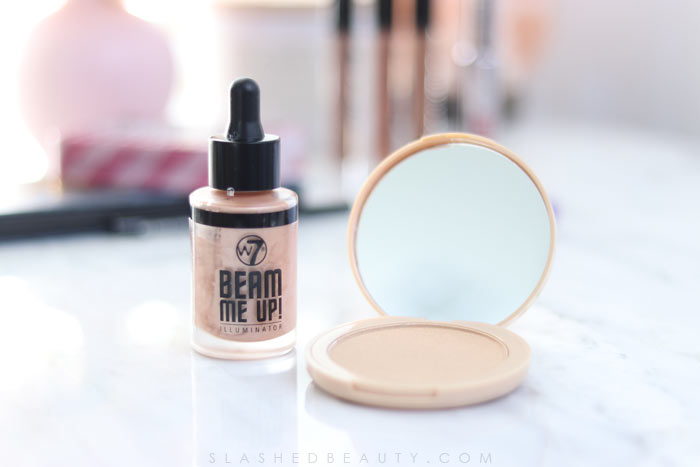 w7 Makeup Review: TJ Maxx Makeup Review: w7 Glowcomotion Highlighter | Slashed Beauty