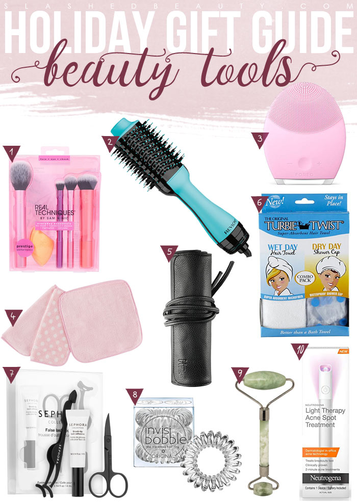 Holiday Gift Guide: 10 Beauty Tools & Accessories Gifts
