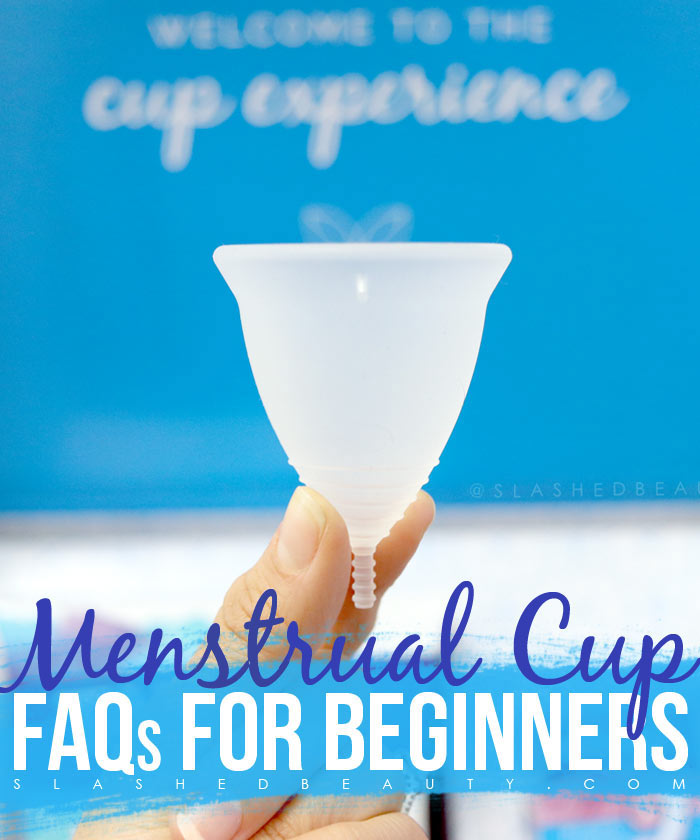 Beginner's Menstrual Cup FAQ: How to Use Menstrual Cups, Menstrual Cup Folds & Tips | Slashed Beauty
