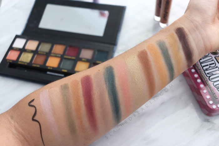 w7 Makeup Review: TJ Maxx Makeup Review: w7 On The Rocks Palette Swatches | Slashed Beauty