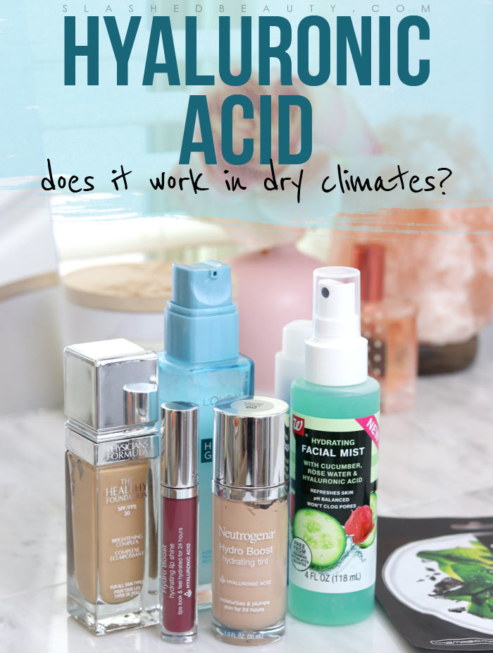 Does Hyaluronic Acid Work in Dry Climates? Does Hyaluronic Acid Make Your Skin Feel Drier? This might be why! | Slashed Beauty