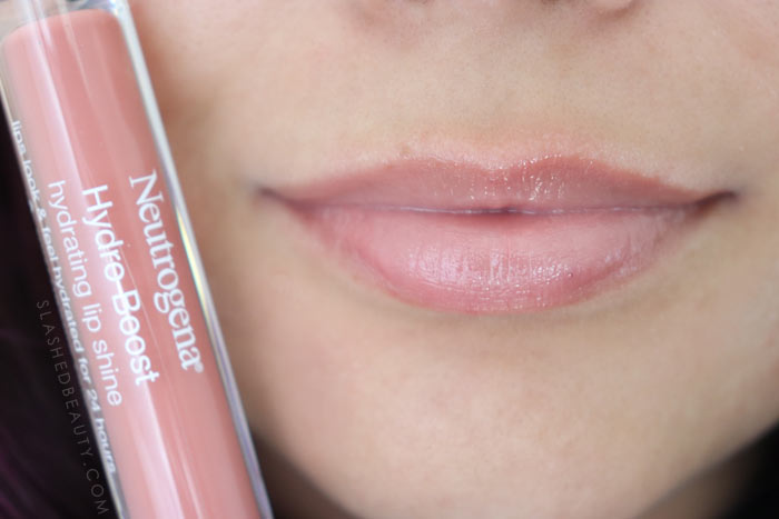 Best Lip Color for Dry Lips: Neutrogena Hydro Boost Hydrating Lip Shines BERRY BROWN Review & Swatches   Slashed Beauty