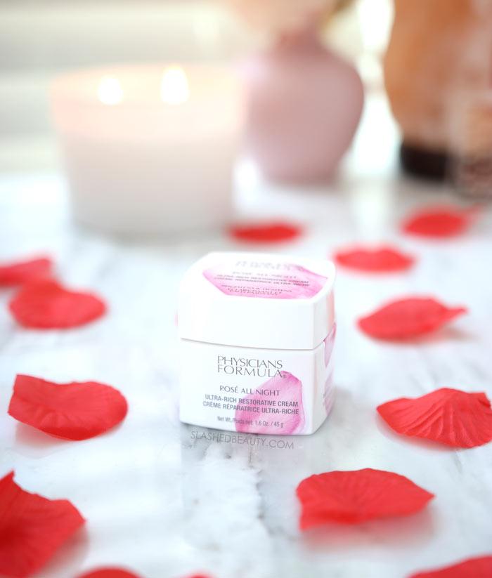 Physicians Formula Rosé All Night Ultra-Rich Restorative Cream Review | Drugstore Night Cream for Dry Skin
