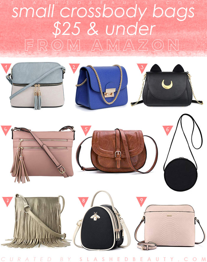 9 Cute Small Crossbody  Bags from Amazon $25 and Under | Slashed Beauty