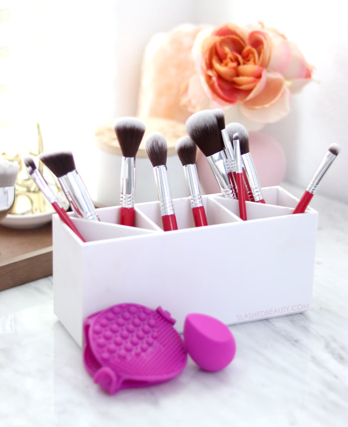 New & Budget Friendly: Practk Makeup Brushes Review | Affordable Makeup Brushes | Slashed Beauty