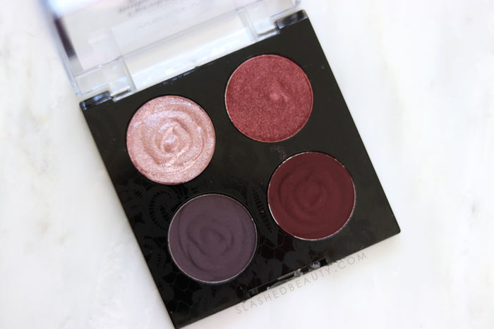 REVIEW & SWATCHES: wet n wild Rebel Rose Eyeshadow Quads   Slashed Beauty