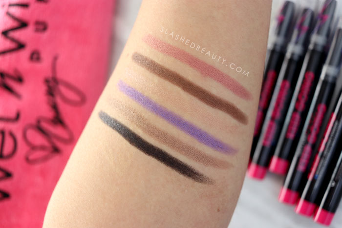 wet n wild Pump Keep Going Waterproof & Sweatproof Eyeshadow Sticks Review, Swatches and Wear Test | Slashed Beauty