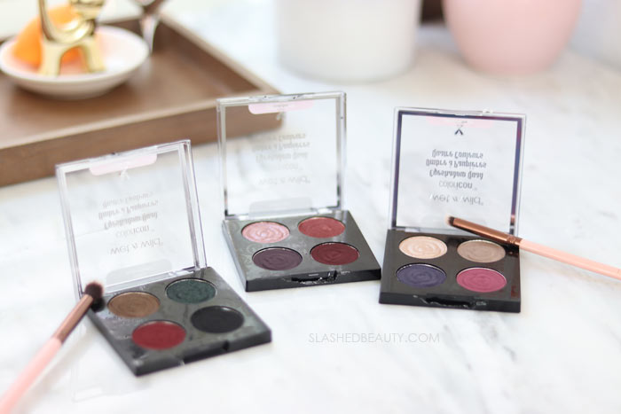 REVIEW & SWATCHES: wet n wild Rebel Rose Eyeshadow Quads | Slashed Beauty