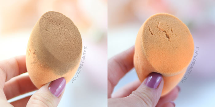 Ruining Makeup Sponge in Microwave | Slashed Beauty