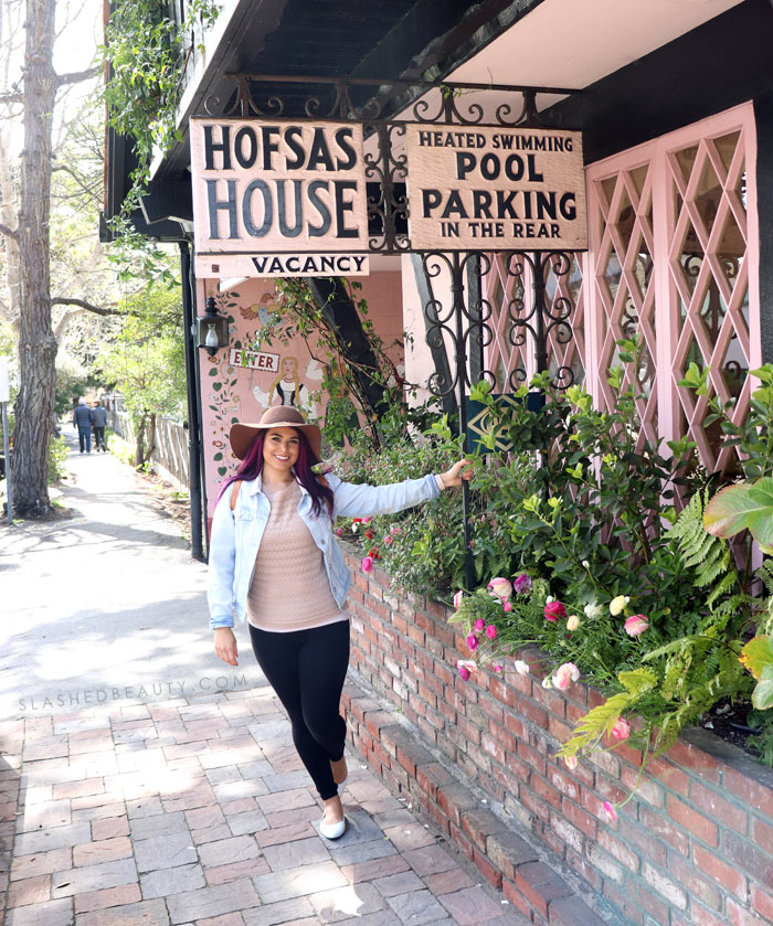 Travel Guide: Weekend Trip to Carmel by the Sea | Best Hotel in Carmel | Hofsas House Review | Slashed Beauty
