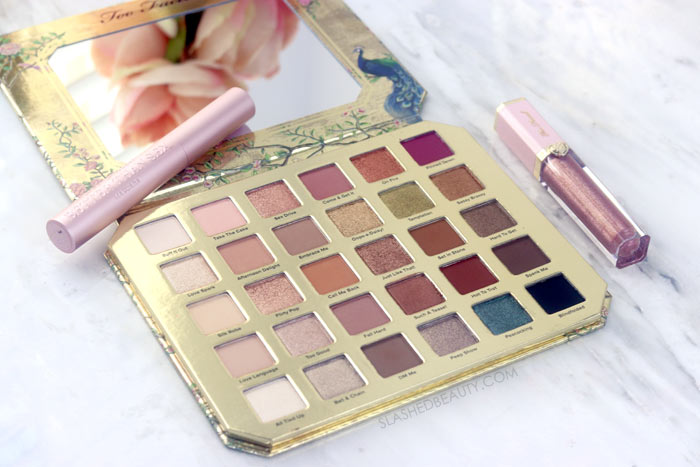 Too Faced Natural Lust Palette Review & Swatches | Too Faced Value Bundle on HSN | Slashed Beauty