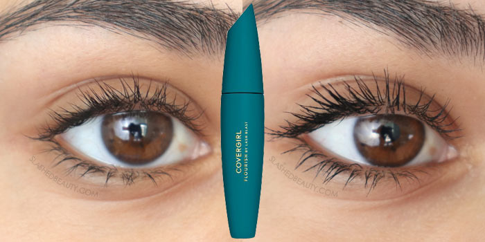 Best Budget-Friendly Mascaras | Covergirl Flourish by LashBlast Mascara Review & Before and After Application Photo | Slashed Beauty