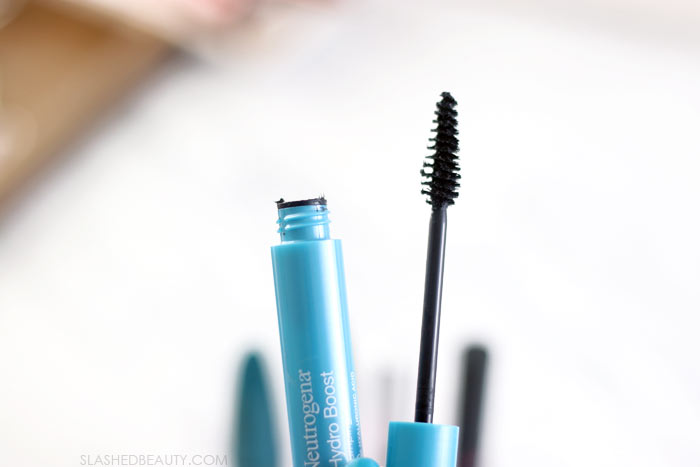 Best Budget-Friendly Mascaras | Neutrogena Hydro Boost Plumping Mascara Review & Before and After Application Photo | Slashed Beauty