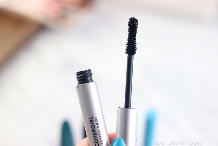 Best Budget-Friendly Mascaras | Covergirl Exhibitionist Mascara Review & Before and After Application Photo | Slashed Beauty