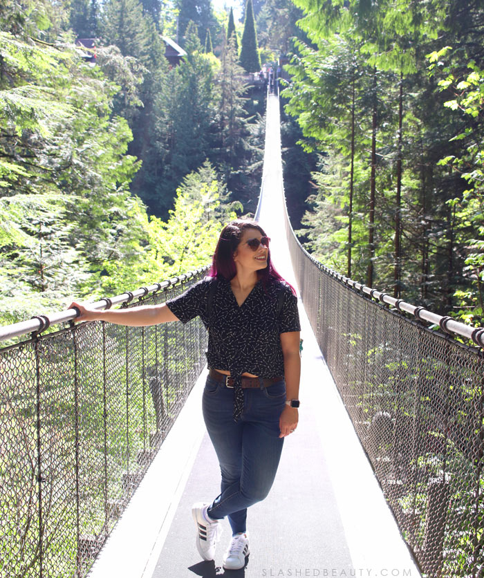 Travel Itinerary: 3 Days in Vancouver | Capilano Suspension Bridge Park or Lynn Canyon Suspension Bridge? | Slashed Beauty