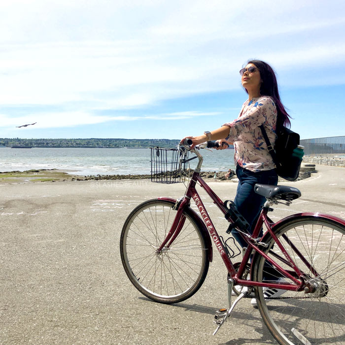 Travel Itinerary: 3 Days in Vancouver | Stanley Park Bike Rentals | Slashed Beauty