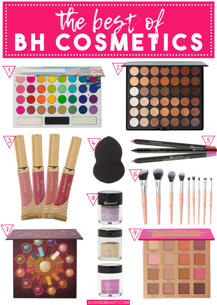 The Best of BH Cosmetics: Best Makeup & Best Tools | Slashed Beauty